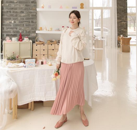 soim-[임부복*레이스 맨투맨티]♡韓國孕婦裝上衣