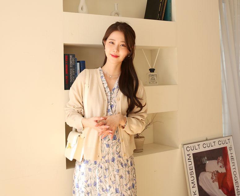 happy10-[*신상5% 기간한정할인*임부복*루즈라인 가디건]♡韓國孕婦裝外套