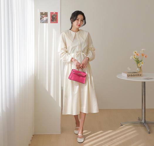 soim-[임부복*빅카라 임산부원피스]♡韓國孕婦裝連身裙