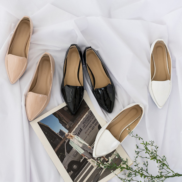 misscandy-[no.14853 애나멜 스틸레토 클래식로퍼]♡韓國女裝鞋