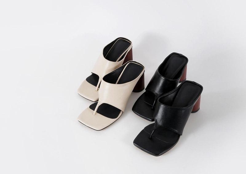 maybins-젠키 미들 힐♡韓國女裝鞋
