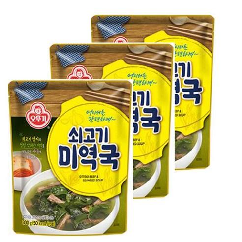 韓國不倒翁牛肉海帶湯 500g