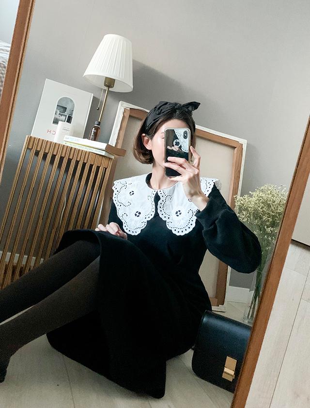babirolen-[ 로맨틱 펌프-ops]♡韓國女裝連身裙
