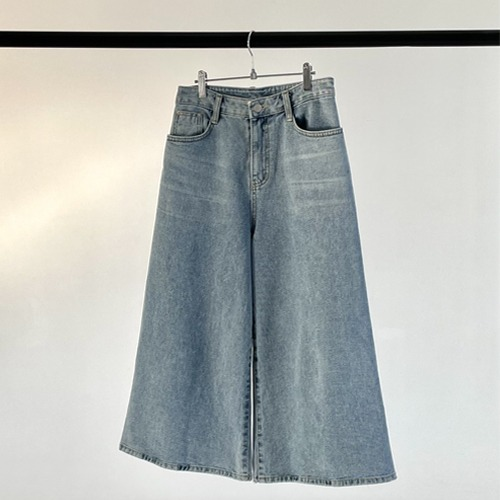 derang-[select]와이드9부-denim.pt♡韓國女裝褲