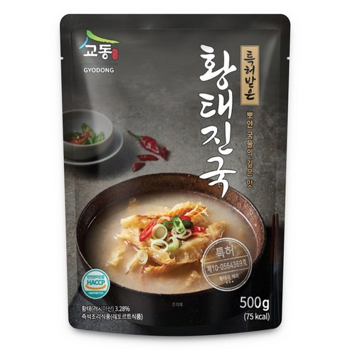 韓國校洞乾明太魚湯 500g