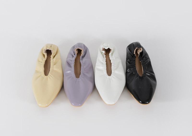 maybins-펀픈 플랫 슈즈♡韓國女裝鞋