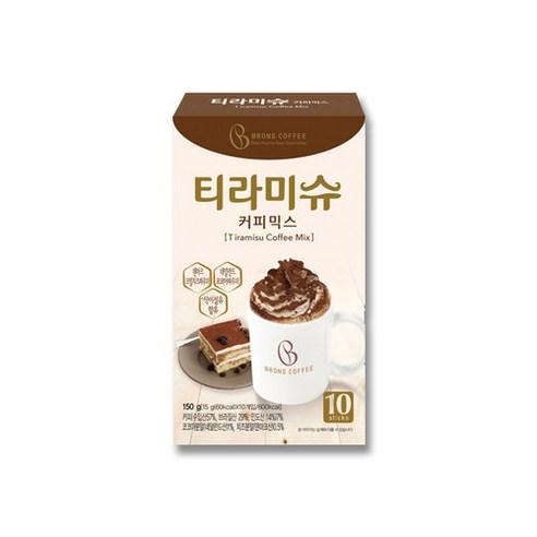 韓國 Brons Coffee 提拉米蘇咖啡 (10條) 150g