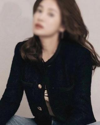 cocostory-[바로배송 주문폭주-셀럽들이 먼저 선택한 클래식 골드 버튼 자켓-카리스마와 간지]♡韓國女裝外套