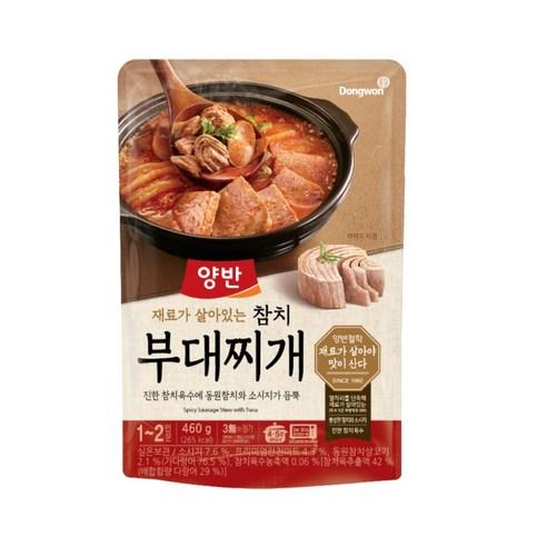 韓國東遠吞拿魚香腸燉肉 460g