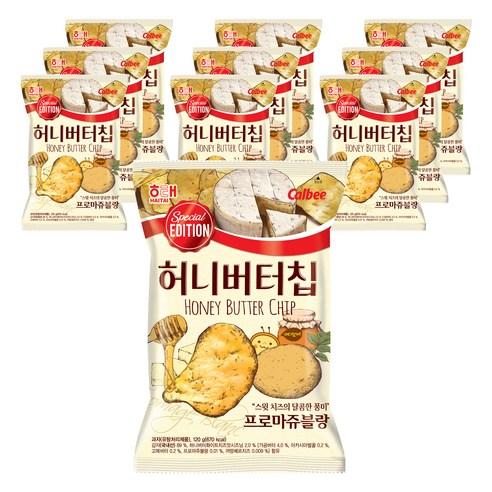 韓國海天 芝士蜜糖牛油薯片 60g