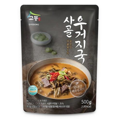 韓國校洞牛肉菜湯 500g
