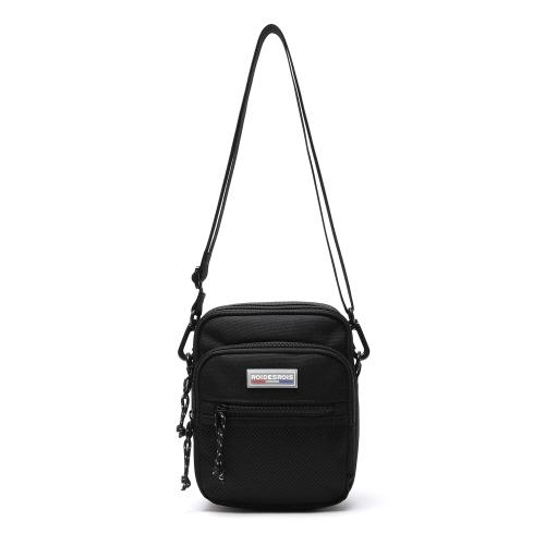 fairplay142-[[로아드로아]OOPS MINI CROSS BAG (BLACK)]♡韓國男裝袋