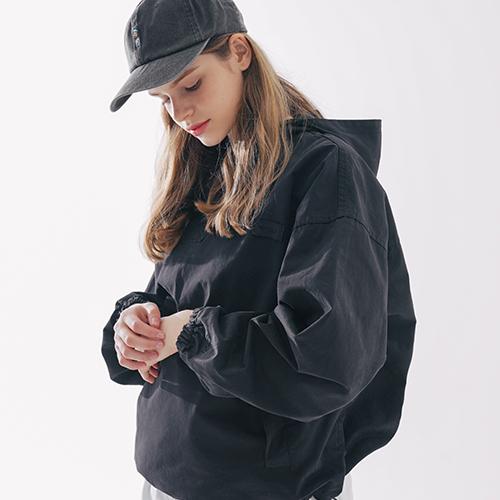 fairplay142-[[더블유브이프로젝트] 렉스 아노락후드 블랙 MJHD7462]♡韓國男裝外套