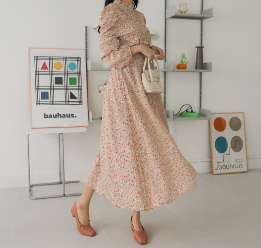soim-[임부복*블라썸스모크 임산부원피스]♡韓國孕婦裝連身裙