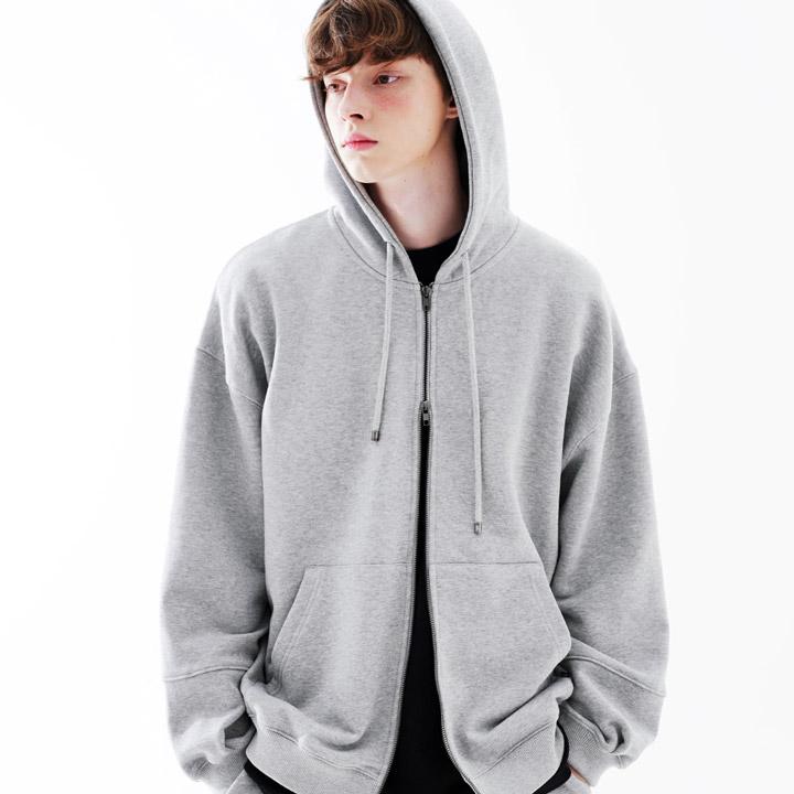 fairplay142-[[3/25배송][더블유브이프로젝트] 수플레 후드집업 그레이 JJOT7467]♡韓國男裝上衣