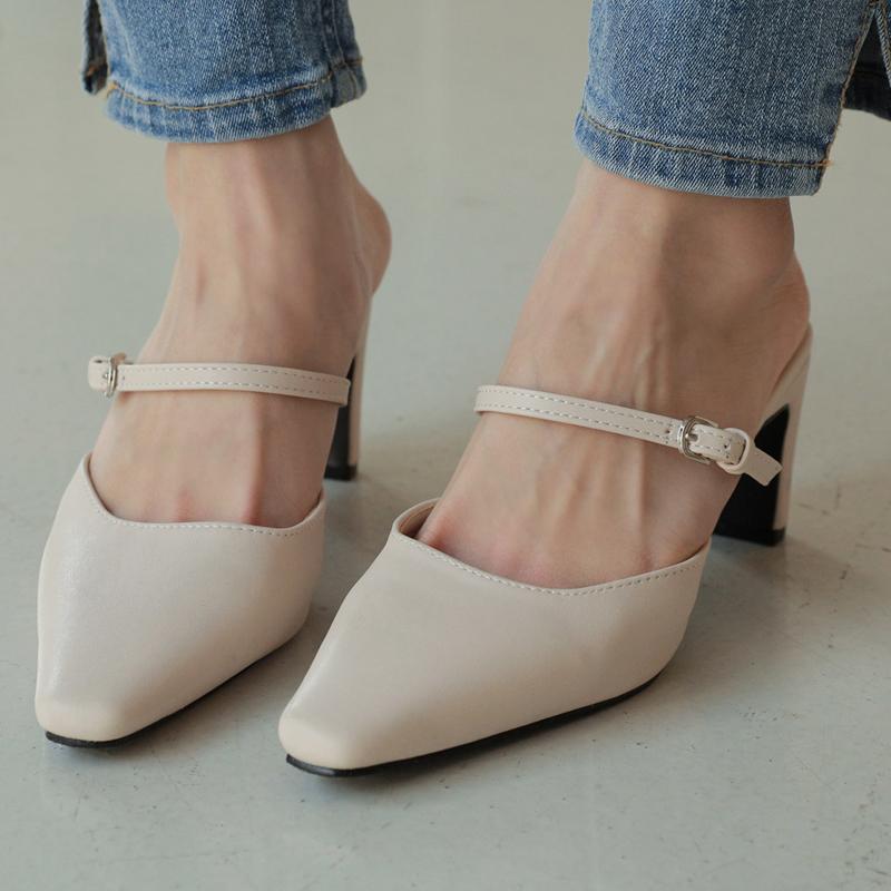 clicknfunny-[허스티 스틸레토뮬]♡韓國女裝鞋