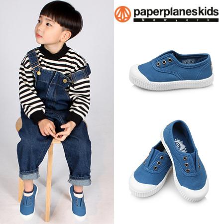 paperplaneskids-페이퍼플레인키즈 [PK7726 - 블루 아동단화]♡韓國童裝鞋