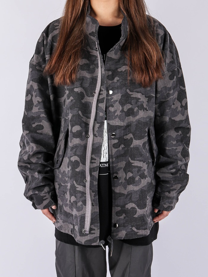 justyoung-NU Military Short Field Jacket (2color)♡韓國男裝外套