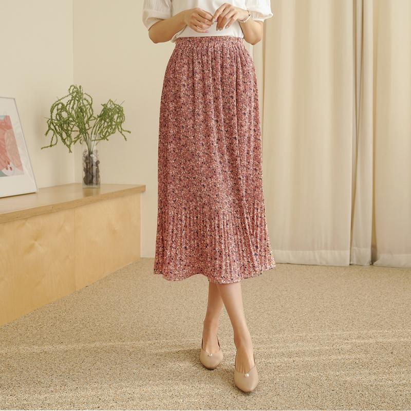 clicknfunny-[센벤 플라워스커트]♡韓國女裝裙