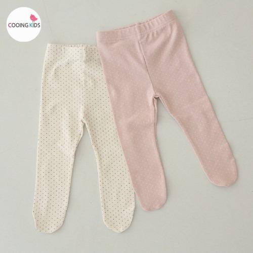 cooingkids-베이비옷 - J땡땡이발레깅스♡韓國幼兒裝