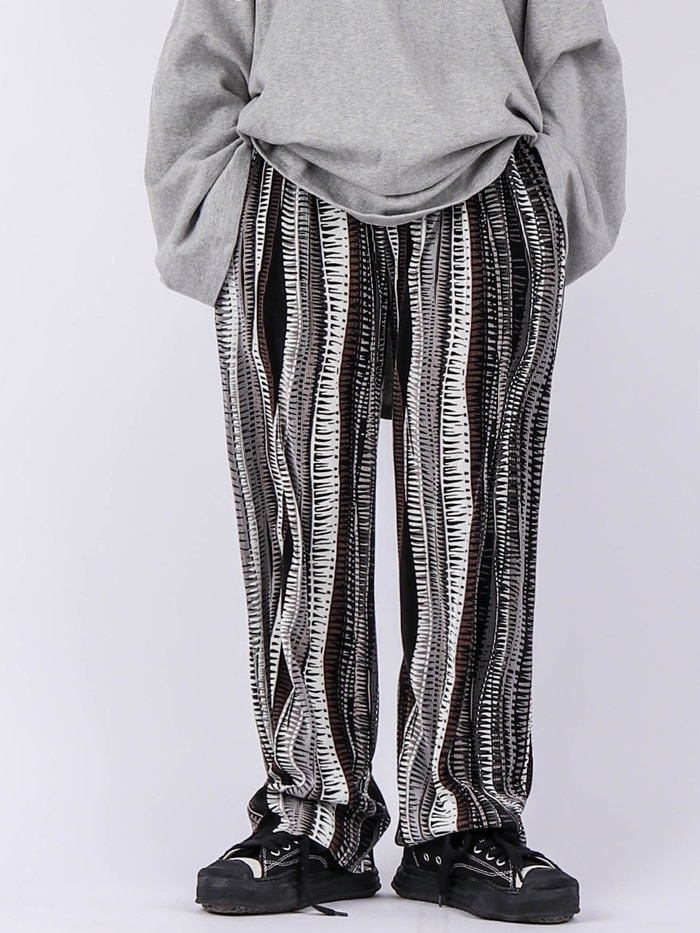 justyoung-GE Herringbone Pleated Pants (2color)♡韓國男裝褲子