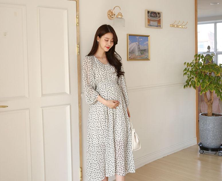 happy10-[*신상5% 기간한정할인*임부복*로맨티스 원피스]♡韓國孕婦裝連身裙
