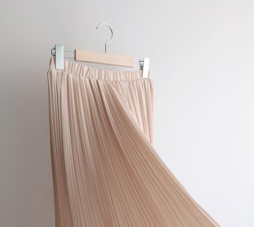beige blanc-엘리스 플리츠 스커트]♡韓國女裝裙