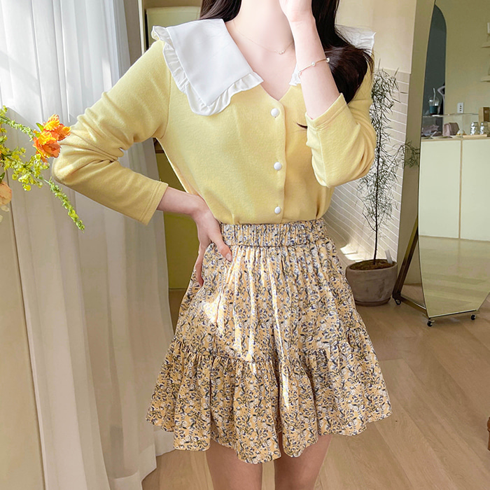 myfiona-릴리온 프릴카라 가디건 a1341 - 러블리 로맨틱룩 1위 쇼핑몰 피오나♡韓國女裝外套