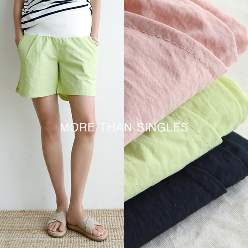 280days-[바게트4부반바지/임부복]임부복 2 8 0 DAYS - 느낌있는 임부복쇼핑몰♡韓國孕婦裝褲子