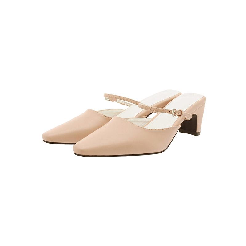 attrangs-sh2232 트렌디한 디자인의 스퀘어토 메리제인 스트랩 슬링백 shoes♡韓國女裝鞋