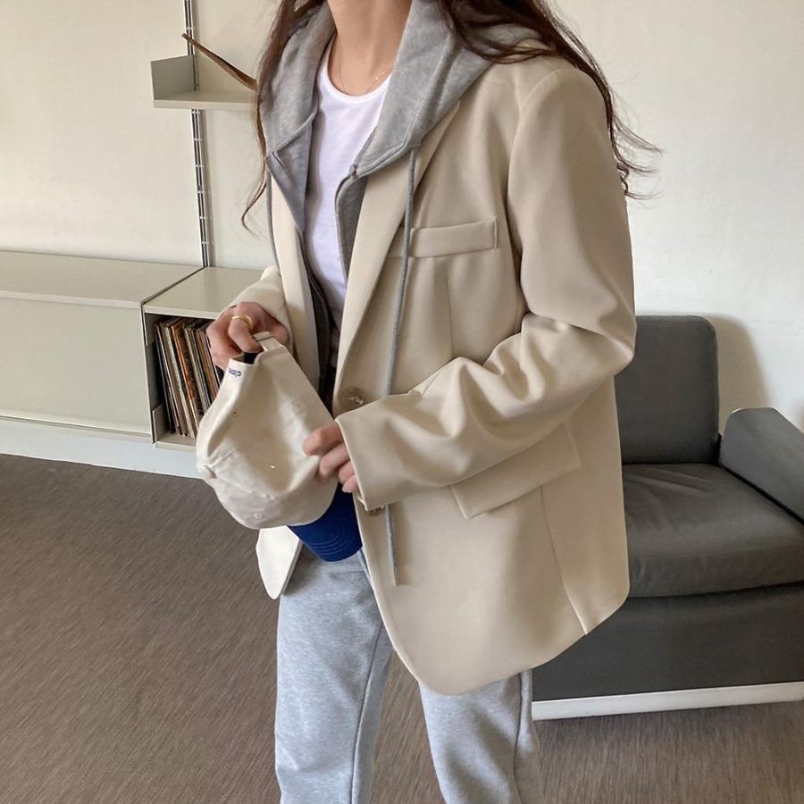 jjrella-마이뉴 스탠다드핏 투버튼 모던 자켓♡韓國女裝外套