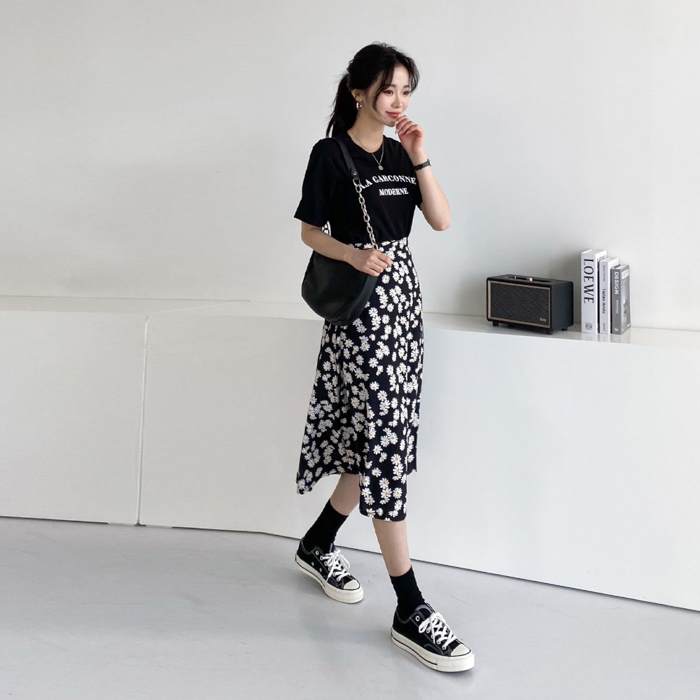 ppgirl-데이지 롱스커트sk H017♡韓國女裝裙