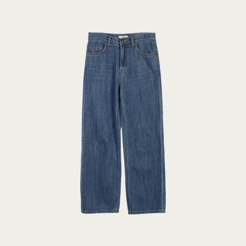 derang-[select]코즈와이드-denim.pt♡韓國女裝褲