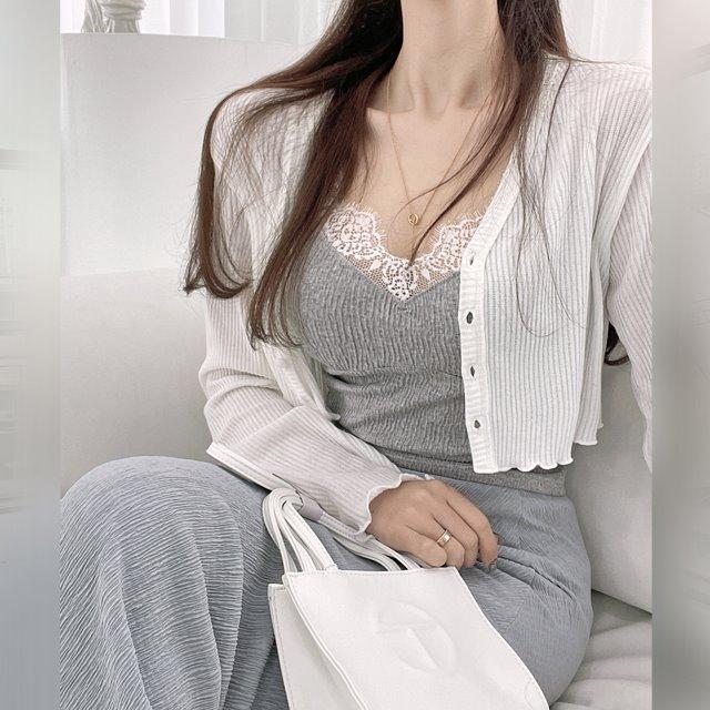 mybany-애니크롭가디건♡韓國女裝外套