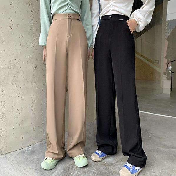 fashion-full-티링 와이드 일자 슬랙스♡韓國女裝褲