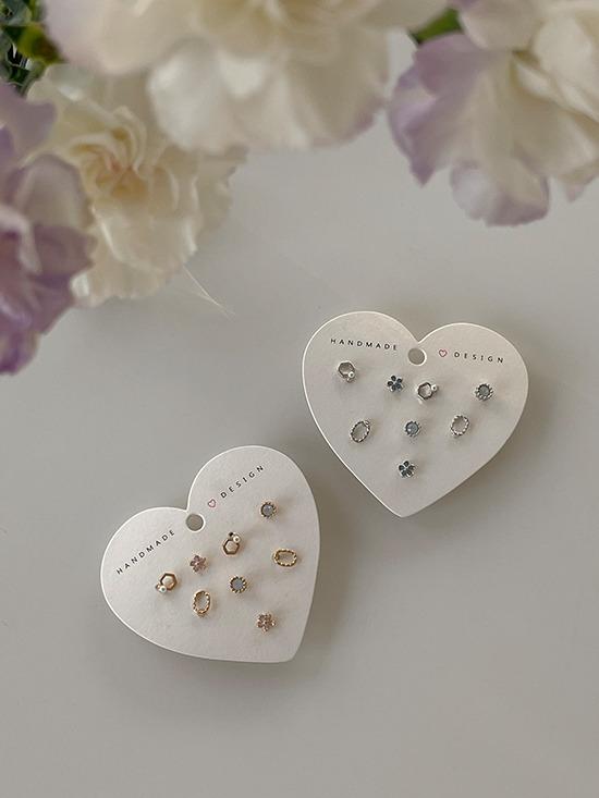 merryaround-앤티크 세트 (earring)♡韓國女裝飾品
