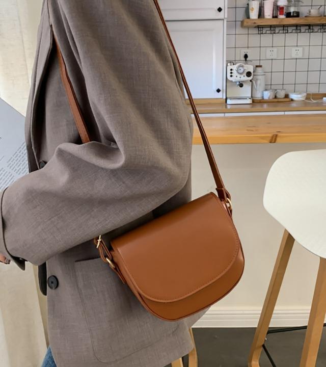 uniqueon-로플리 가죽가방 숄더백 크로스백 [Z1258]♡韓國女裝袋