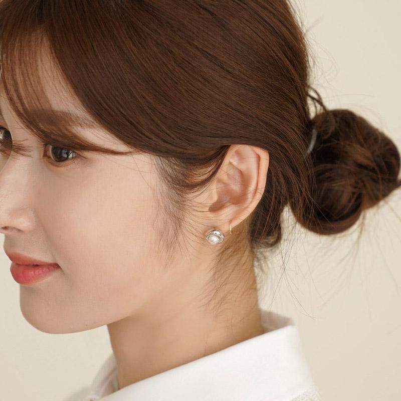 clicknfunny-[튜밋 진주귀걸이]♡韓國女裝飾品