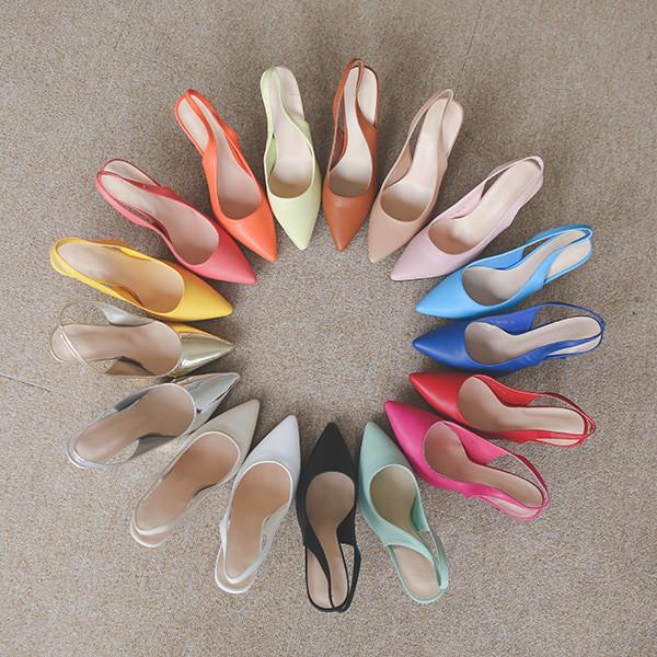 ode-[베리어스 스프링 컬러 스틸레토힐]♡韓國女裝鞋