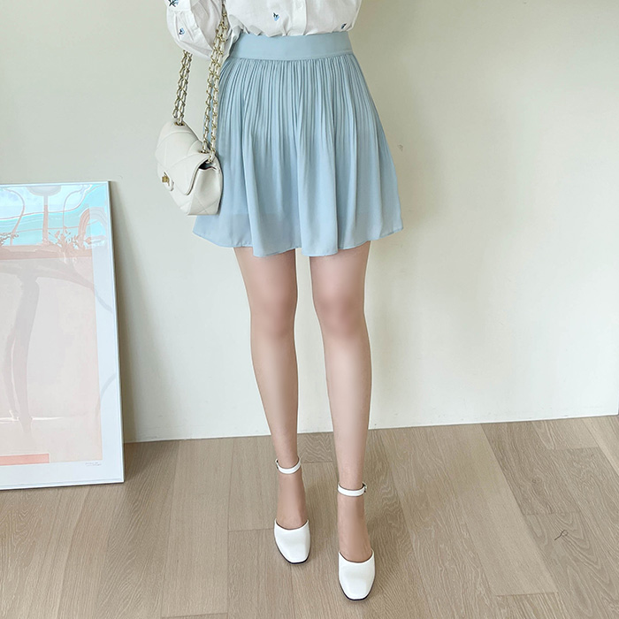 myfiona-기계주름 플리츠 미니스커트(치마바지) a1353 - 러블리 로맨틱룩 1위 쇼핑몰 피오나♡韓國女裝裙