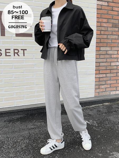 ggsing-[23일9시까지9%할인]큐브 크롭야상JP (루즈핏,무료배송)♡韓國女裝外套