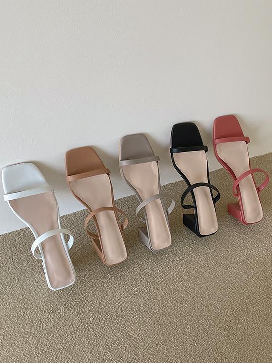 merryaround-비츠 스트랩 (shoes)(6.5cm)♡韓國女裝鞋