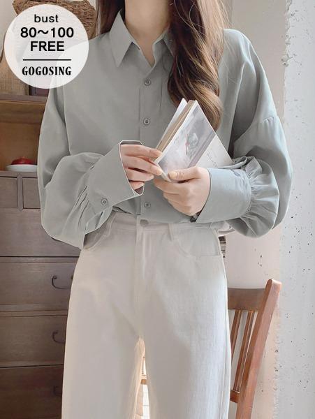 ggsing-[26일9시까지9%할인]피드 루즈NB (셔츠,BL,무료배송)♡韓國女裝上衣