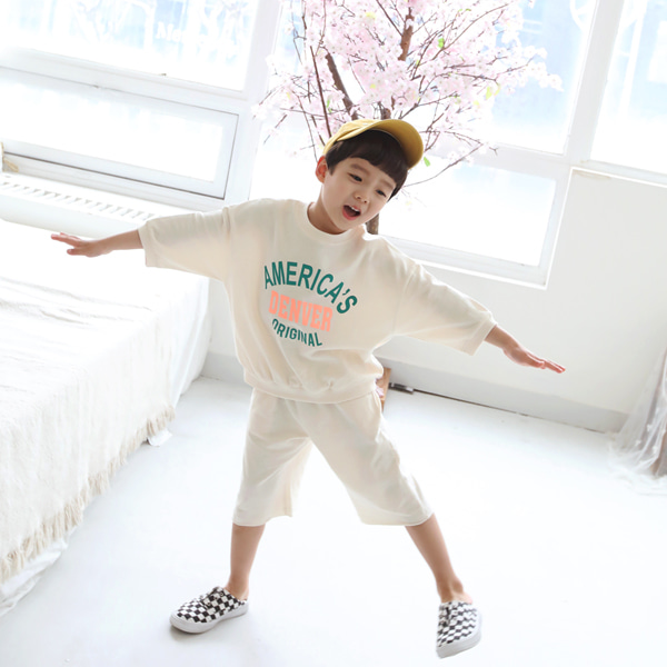 min99kids-꽈트로세트♡韓國童裝套裝