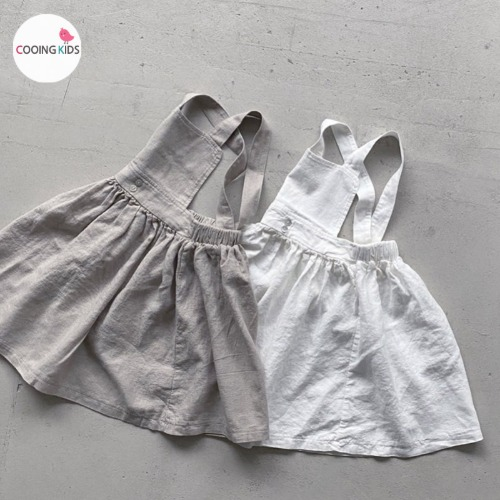 cooingkids-N달콤멜빵원피스♡韓國童裝連身裙