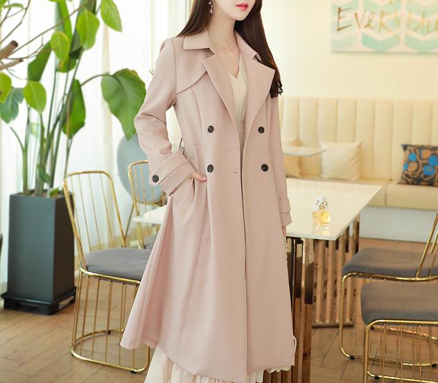 myfiona-이자벨라롱 트렌치코트 a0018 - 러블리 로맨틱룩 1위 쇼핑몰 피오나♡韓國女裝外套