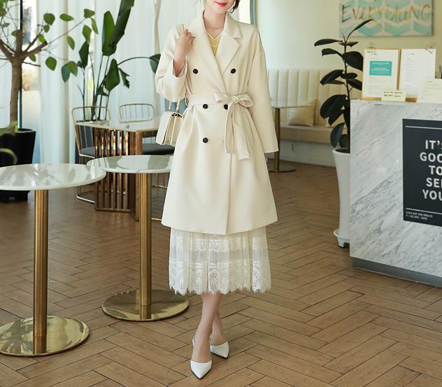 myfiona-(벨트셋트)어반페미닌 트렌치 코트 a0059 - 러블리 로맨틱룩 1위 쇼핑몰 피오나♡韓國女裝外套