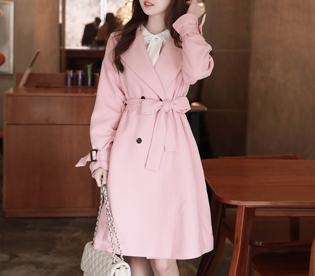 myfiona-(벨트셋트)스타일홀릭 트렌치 코트 m9012 - 러블리 로맨틱룩 1위 쇼핑몰 피오나♡韓國女裝外套
