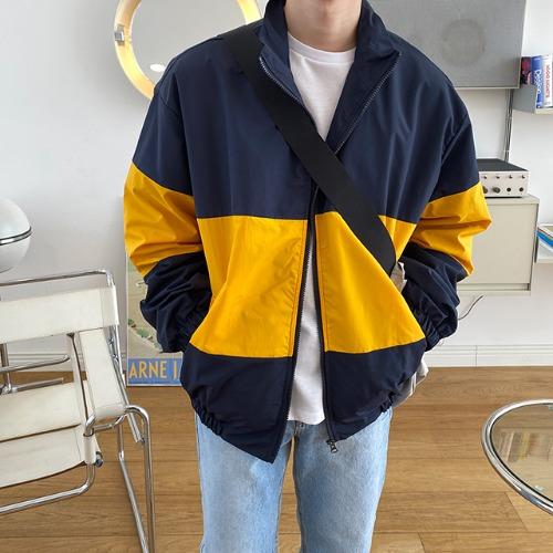 modernsweet-라이트 배색 바람막이 2color / 강력추천 - 모던스윗(modernsweet)♡韓國男裝外套