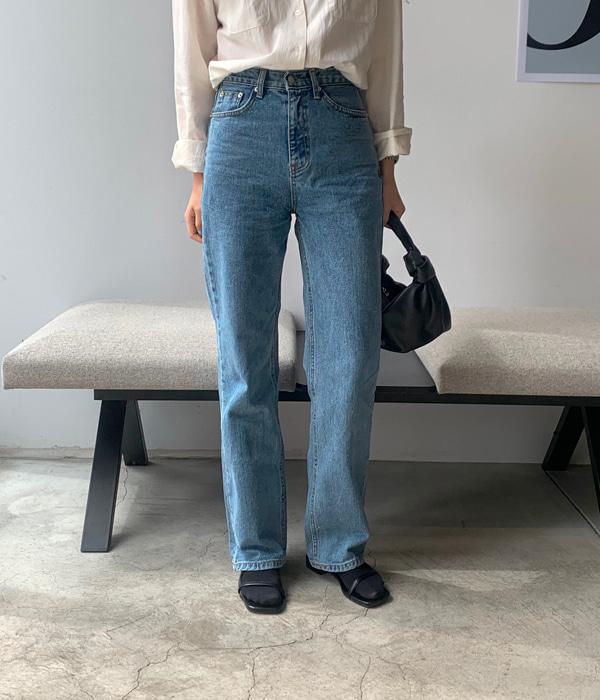 veryyou-버커 데님 PT♡韓國女裝褲